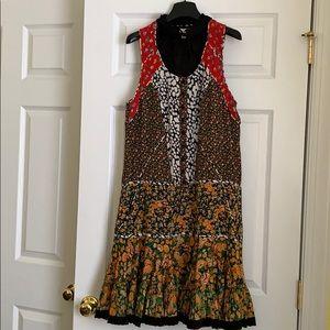Coach Floral Prairie Dress